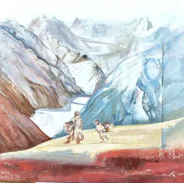 Lyse Mary - peinture montagne