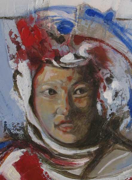portrait moine 3 (detail)