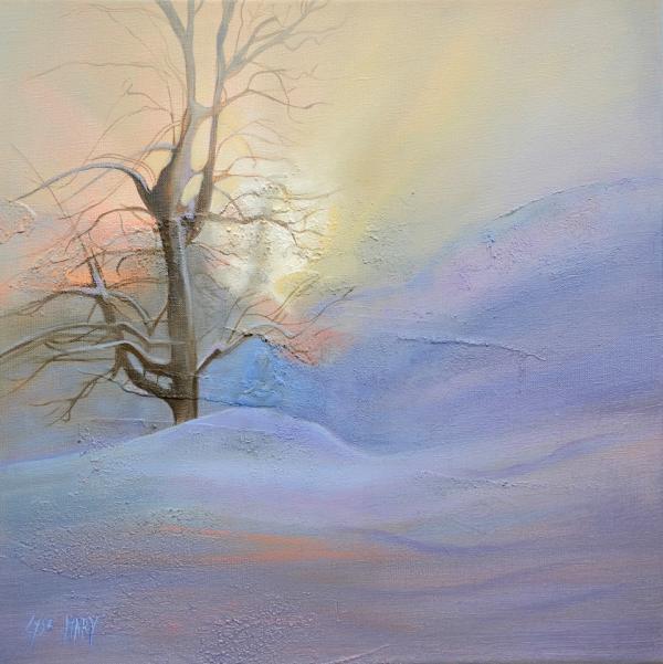 paysage la montagne - hiver