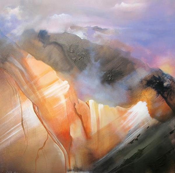 paysage surnaturel - montagne