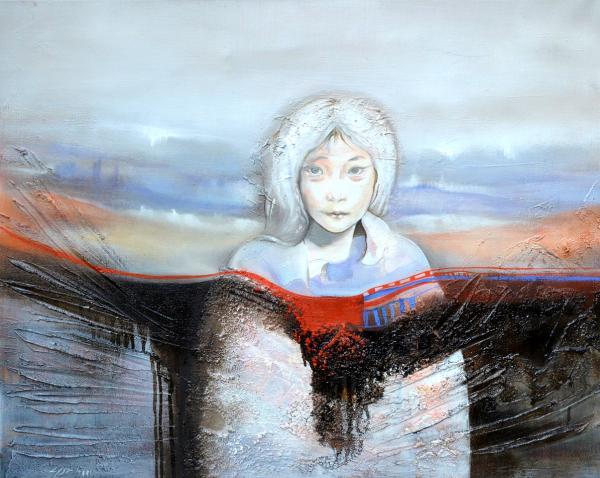 portrait surnaturel femme